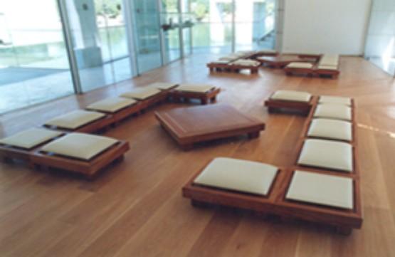 Cr ation du mobilier du salon de th au mus e des arts for Mobilier asiatique
